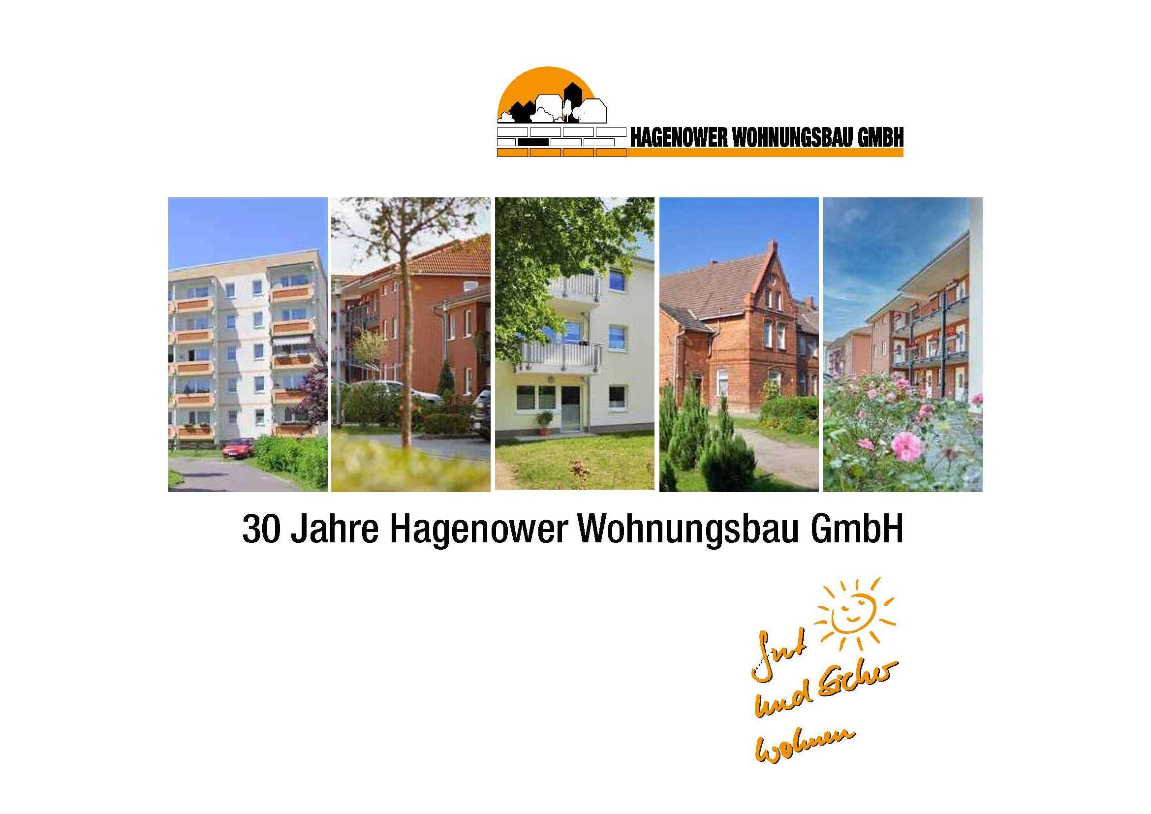 30 Jahre Hagenower Wohnungsbau GmbH